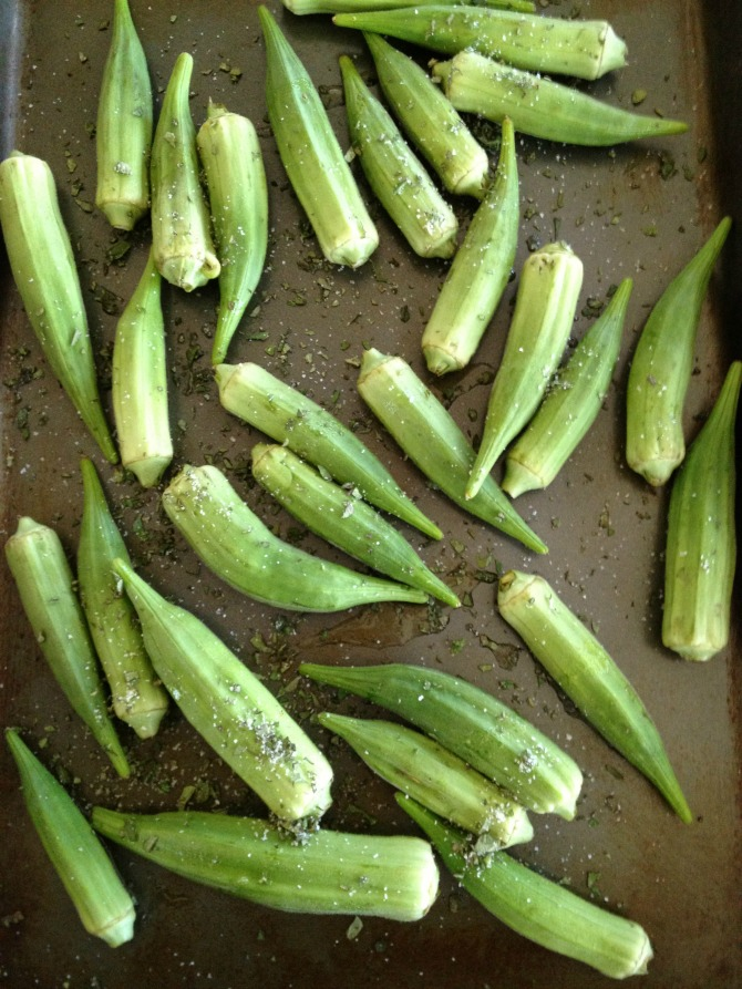 The Holland House: Crispy Oven Okra
