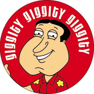 Adoro quando Quagmire diz  quot Giggity  Giggity  Giggity  quot   At  233  comprei    Quagmire Family Guy Giggity