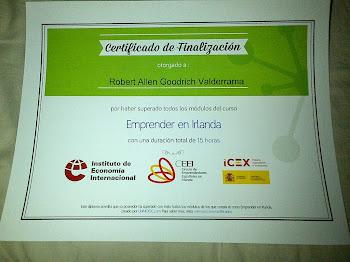 Certificado de Finalización