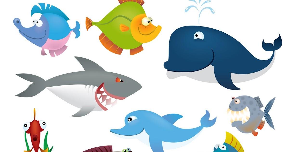 11++ Hewan di air kartun terbaru