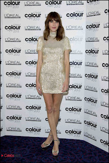 Alexa Chung Pictures at L\'Oreal Colour Trophy Grand Final at The Grosvenor House el  0003