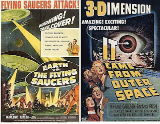 fifties finest sci-fi movie doubleheader