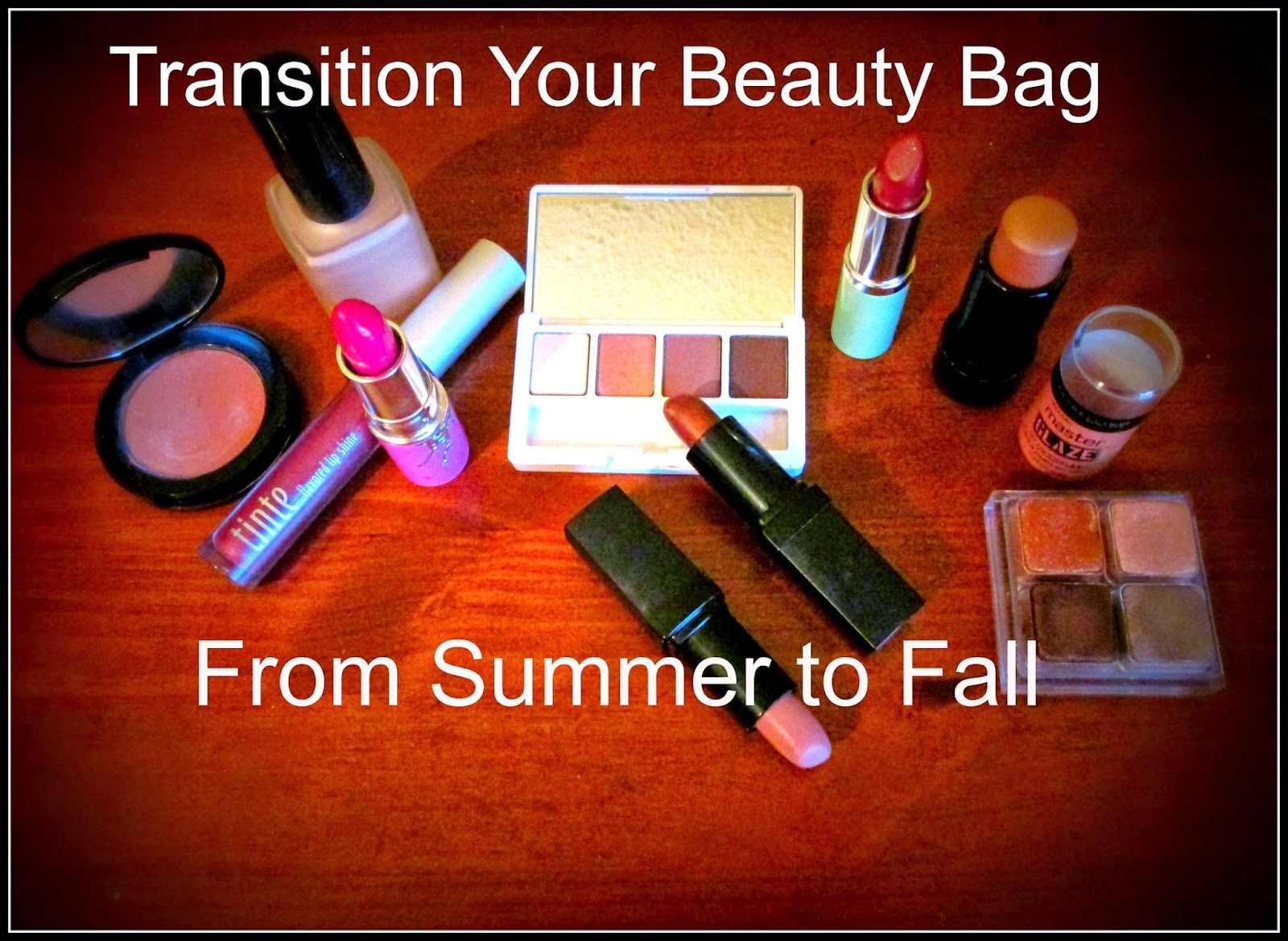 http://chrysalisglam101.blogspot.com/2014/09/transistion-your-beauty-bag-from-summer.html