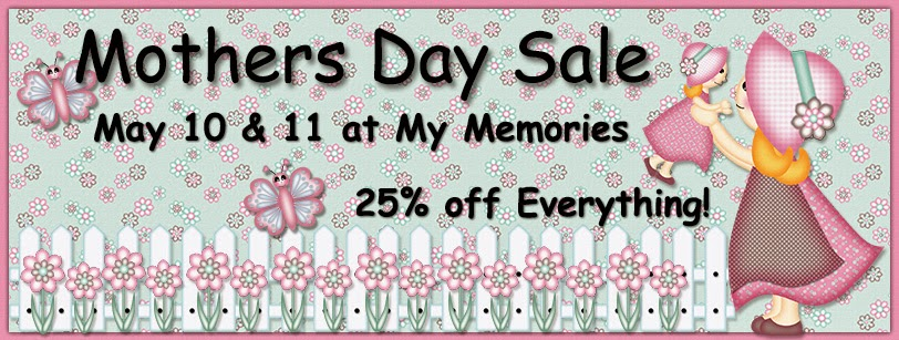 Mother's Day Sale at My Memories