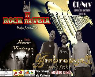 IV ROCK NA VEIA - 1º DE NOVEMBRO
