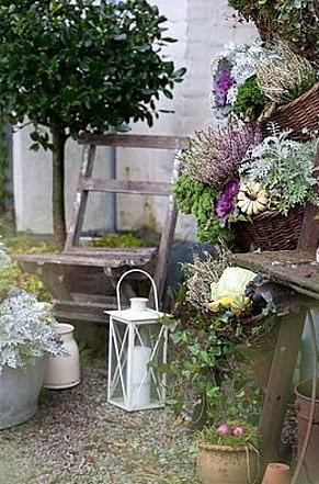 Cosas de palmichula decorar con faroles y farolillos for Antiguedades para jardin