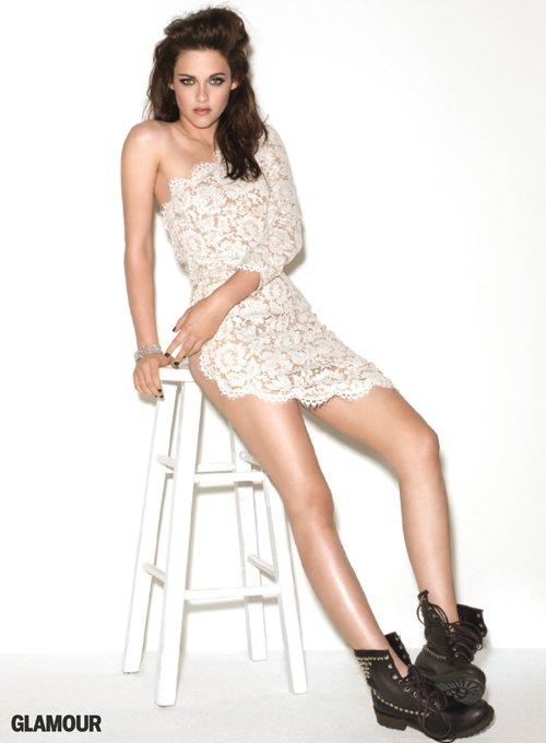 Kristen Stewart @ GLAMOUR Magazine Cover