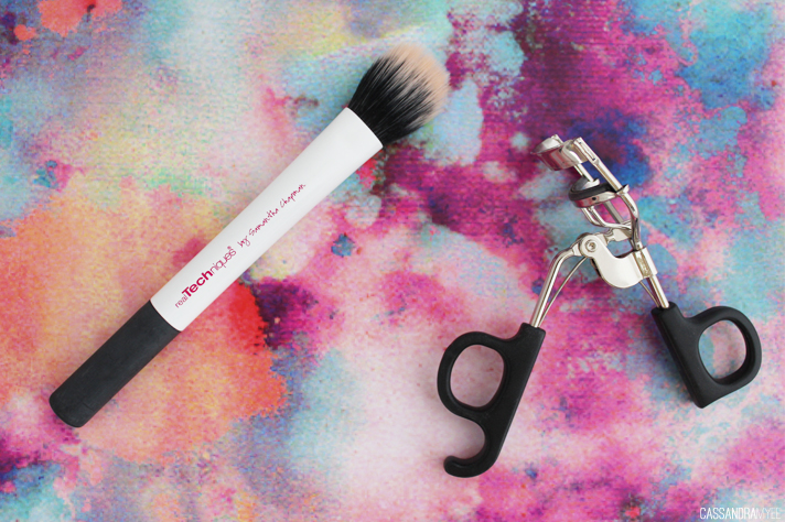 MOST LOVED // July '14 - Real Techniques Duo-Fiber Contour Brush + e.l.f. Eyelash Curler - CassandraMyee