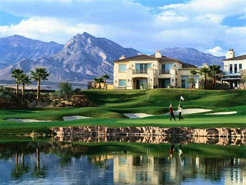 Exellent home design luxury golf course home for Golf course home designs