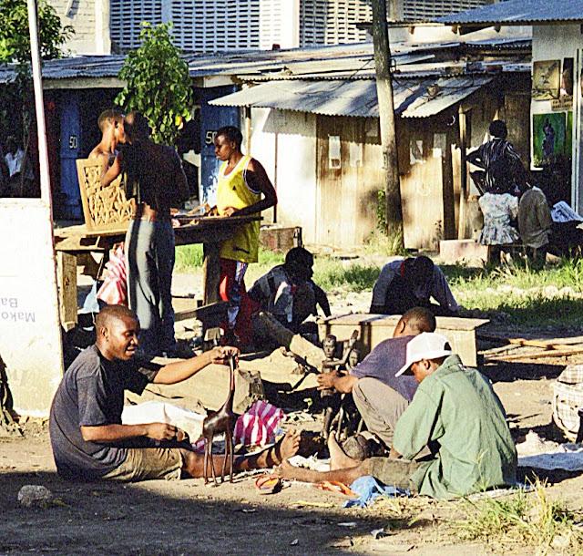 Tanzanian workers