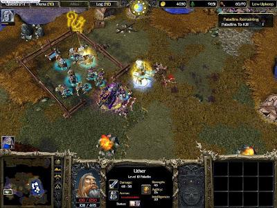 لعبة الاستراتيجية العملاقة WarCraft III Reign of Chaos نسخة كاملة حصريا تحميل مباشر WarCraft+III+Reign+of+Chaos+3