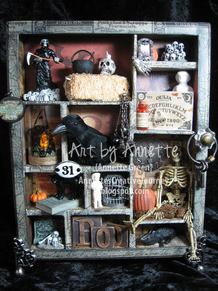 Annettes Creative Journey Halloween Configurations Box