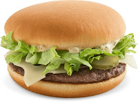 McDonald's Dijon Swiss burger