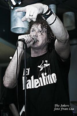Crónica concierto The Jokers Palencia Abril 2012 por Fran Cea