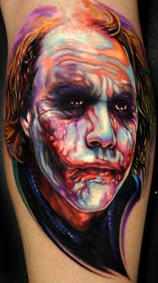 Tatuagens do Coringa
