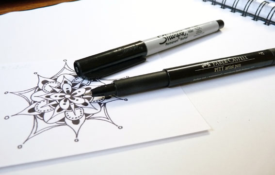 a penchant for paper tips ideas for drawing mandalas