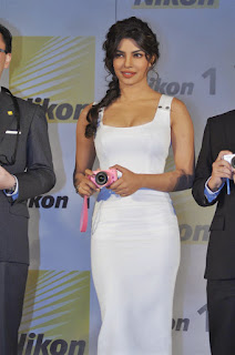 Priyanka Chopra's Hourglass Figure in White Dress