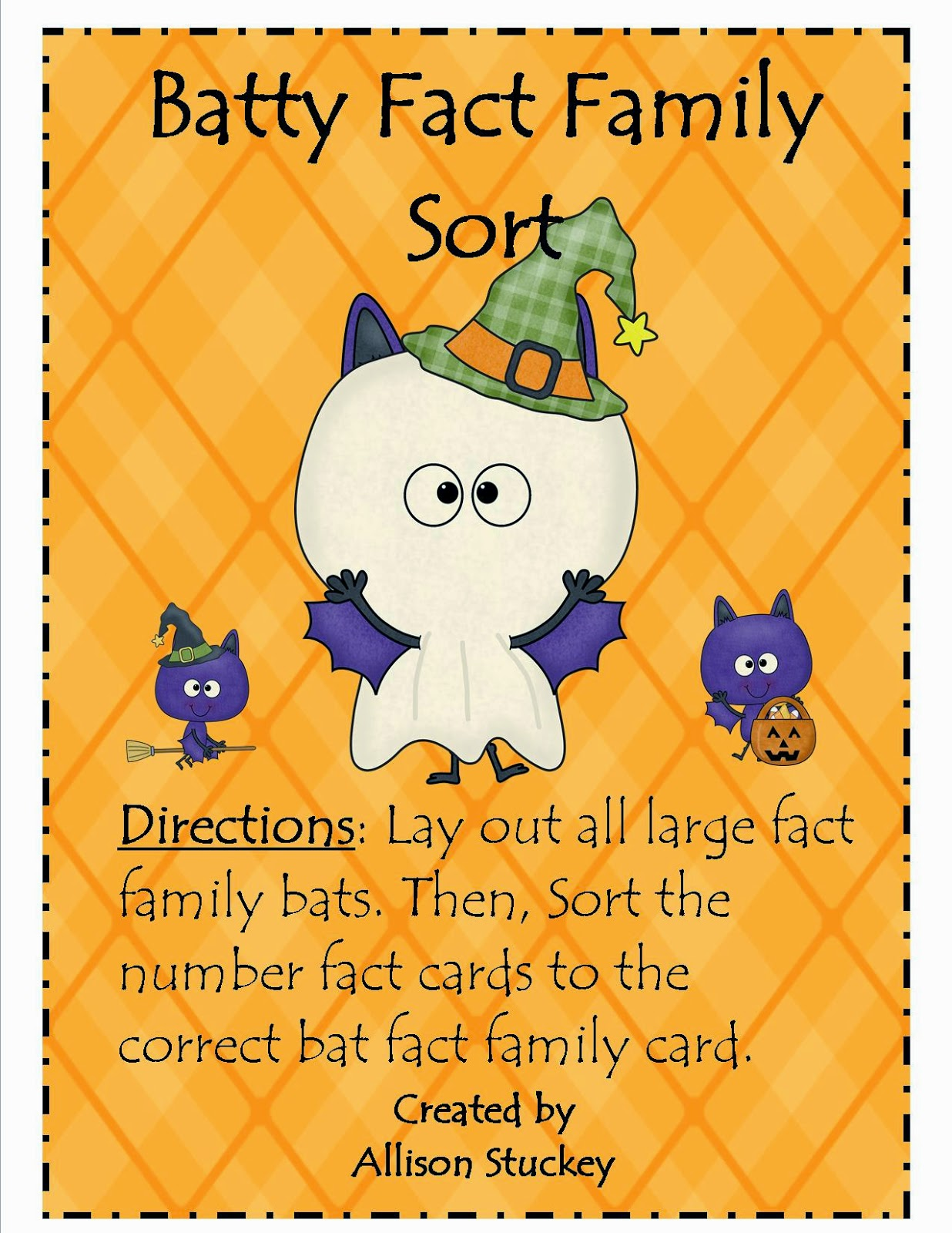 http://www.teacherspayteachers.com/Product/Batty-Fact-Family-Sort-356485