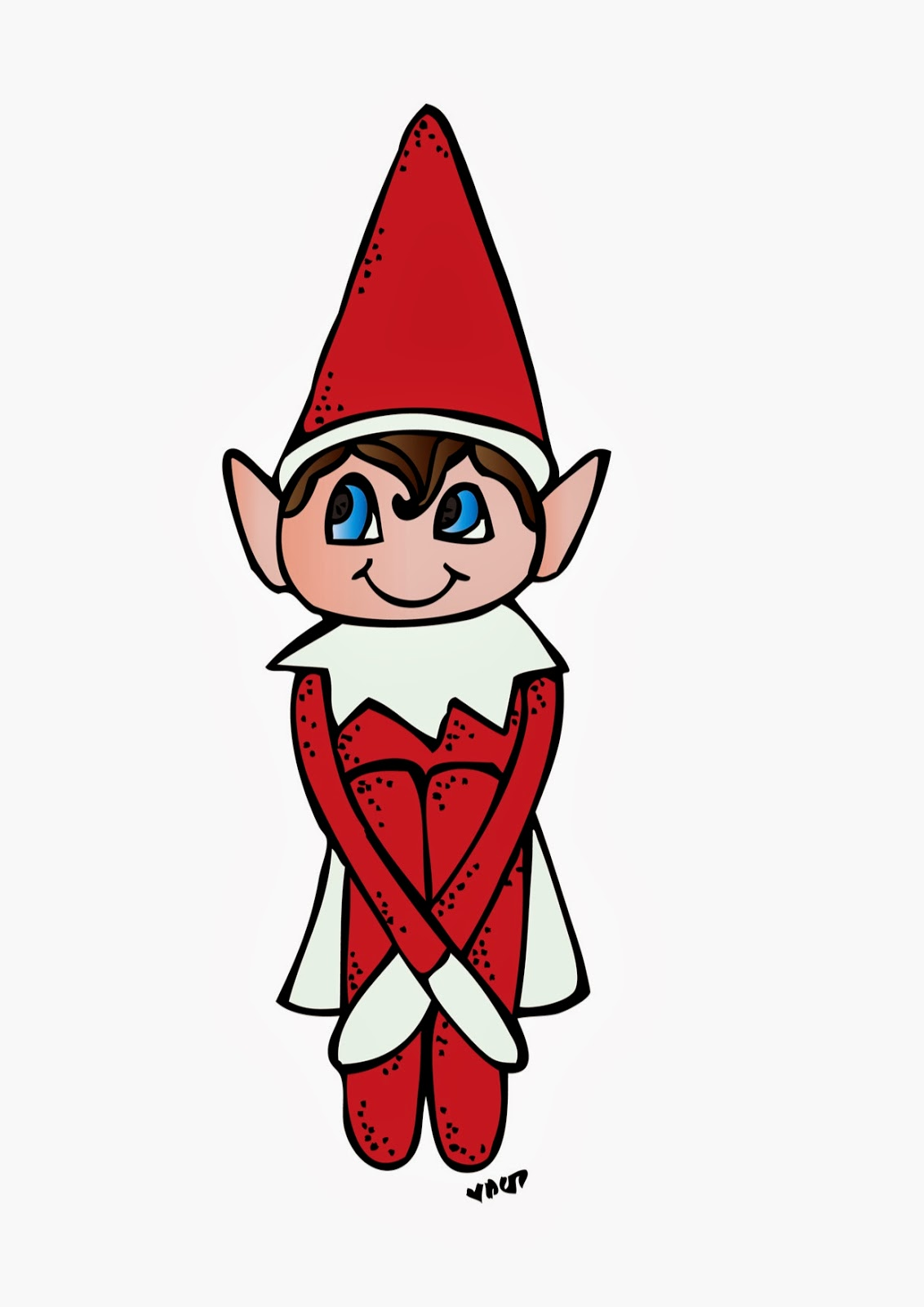elf on the shelf with santa clip art u2013 clipart free download