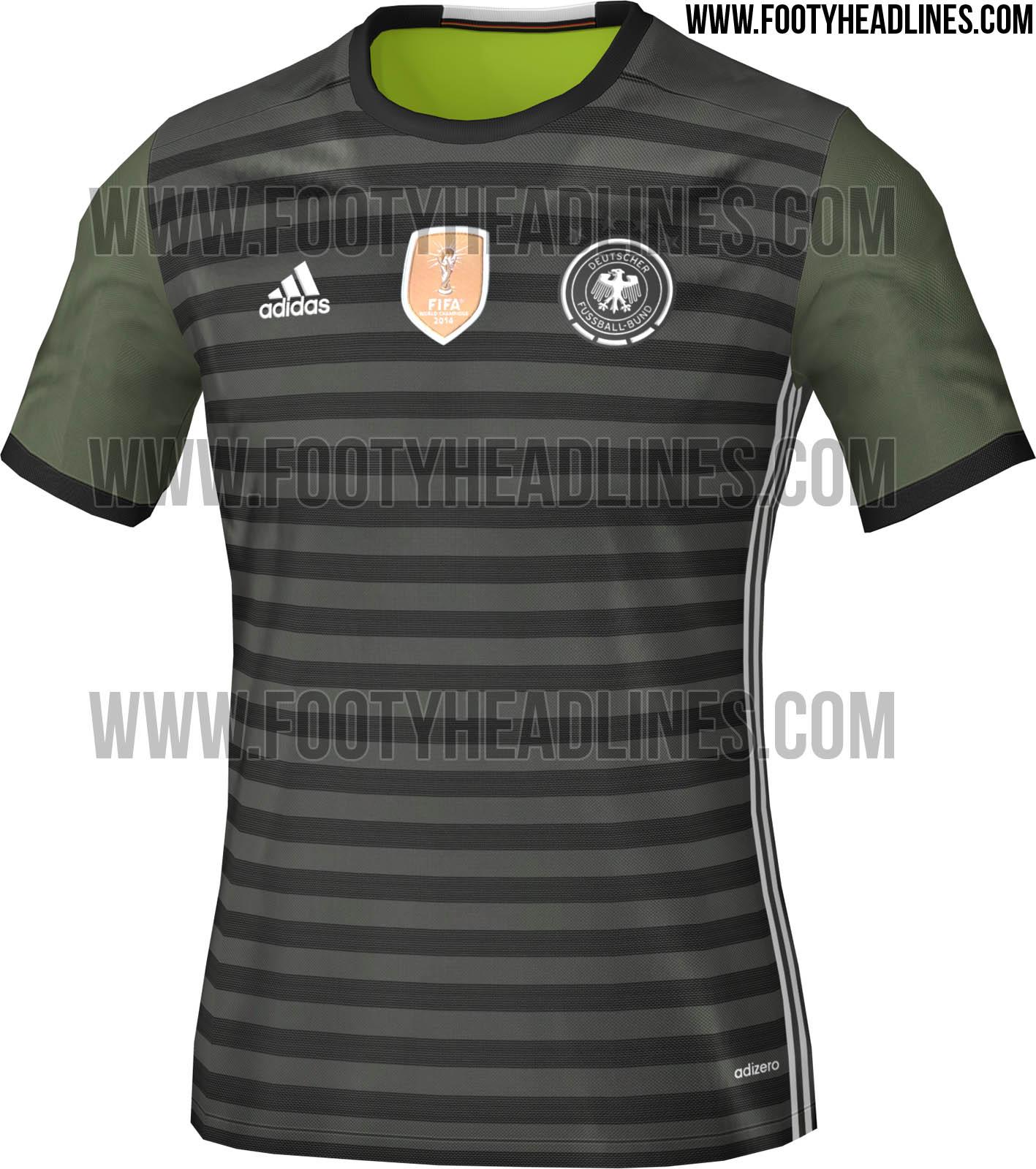 Germany Euro 2016 Away Kit