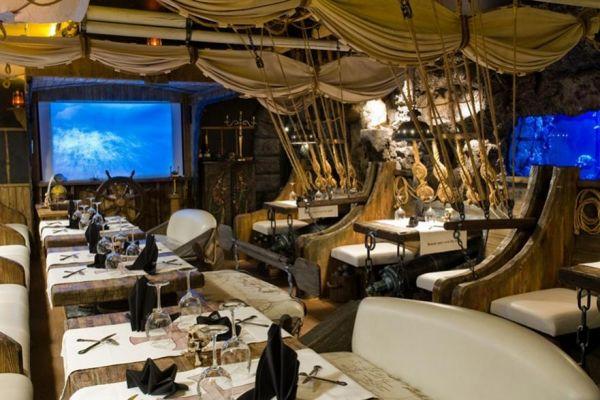 Korsaar a pirate themed restaurant