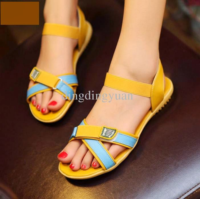 Cool Trends Of Flat Sandals 2014 For Women 006