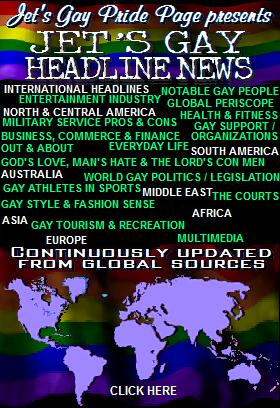 24 Hour Gay Headlines!