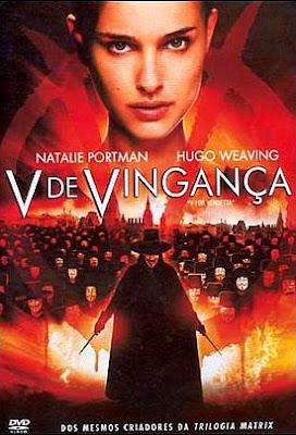 Filme Poster V de Vingança DVDRip XviD & RMVB Dublado