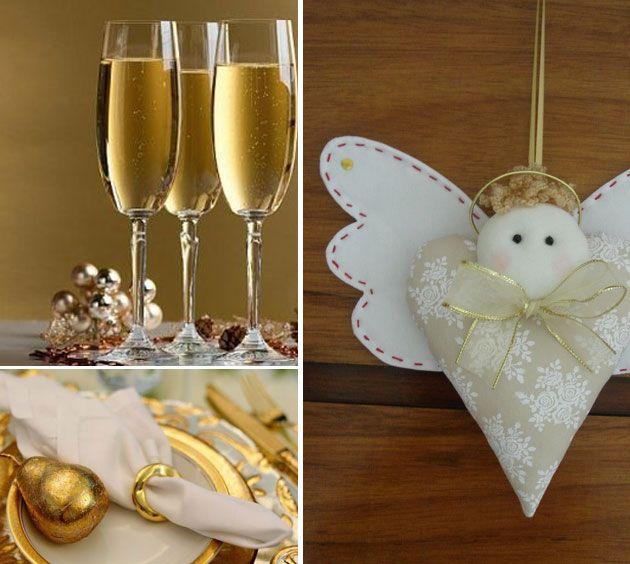 Ideia decoração réveillon Ano novo