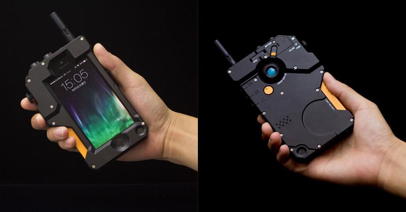MGS V グラウンド・ゼロズ iDROID型iPhoneケースが千値練ブログで公開されていた。