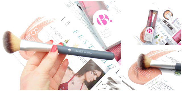 b blusher contour brush product testing uk