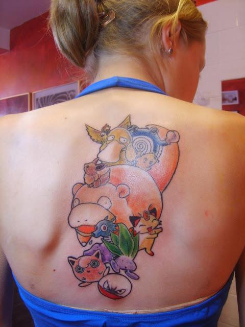 Tatuaje de Pokemón