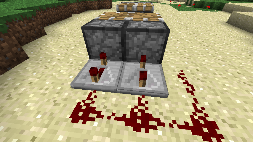 Minecraft Pig How To Build A Piston Trapdoor