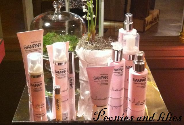 Sampar skincare, M&S spring 13,