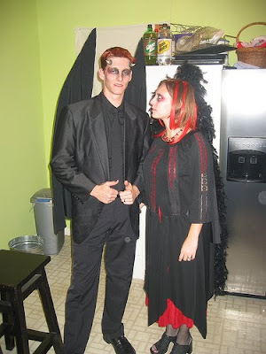vampiro de Halloween ideas para disfraces