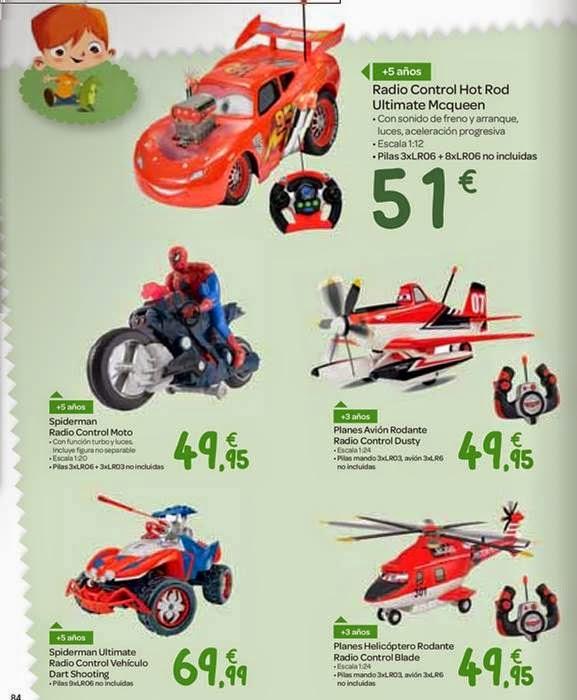 juguetes radio control navidad 2014 carrefour
