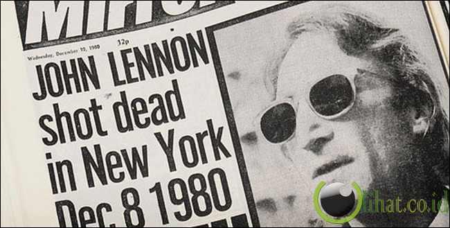 John Lennon, 8 December , 1980