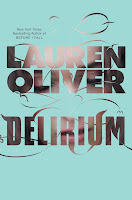 Delirium Lauren Oliver book cover