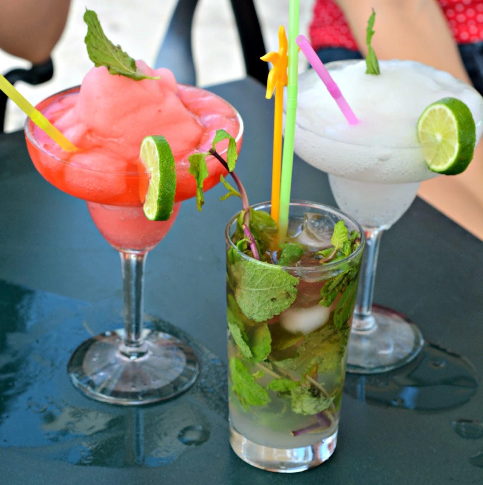 Parque Central cocktails Havana Cuba