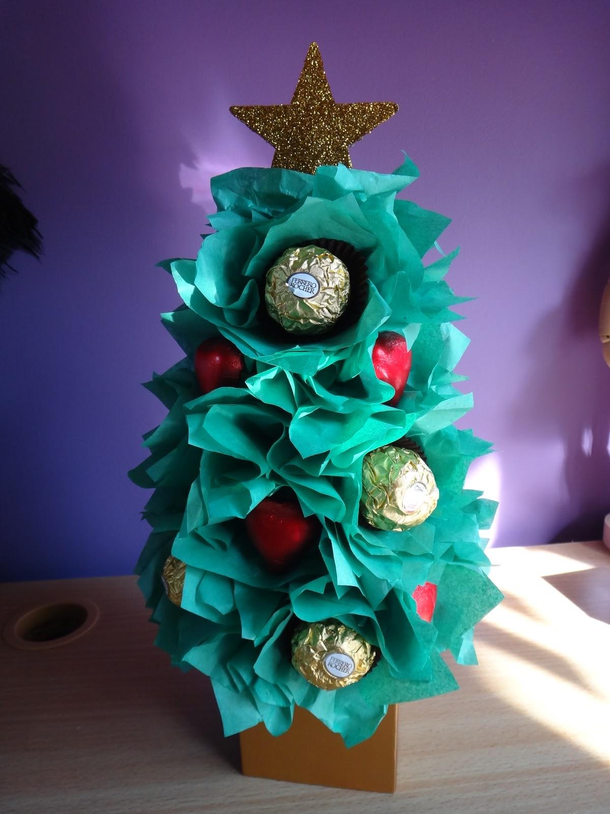 Christmas Tree Chocolates Part - 29: Christmas Tree Chocolate Bouquet Tutorial