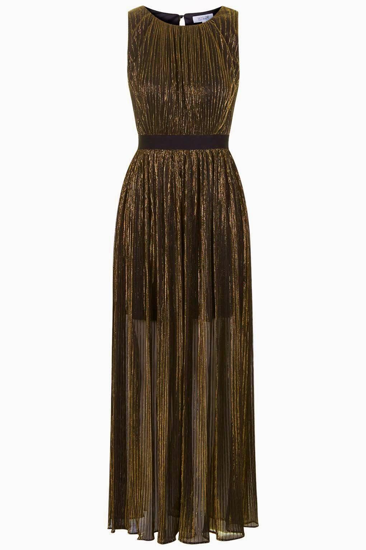 Gold mesh dress, gold dress with belt, topshop gold dress,