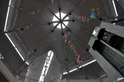 ceiling decors Robinson's Galleria