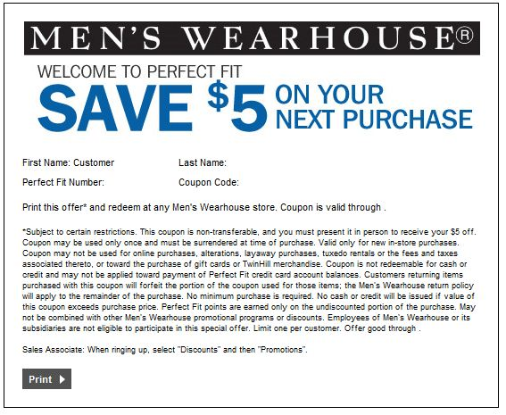 Sep 30,  · Men's Wearhouse is the one stop shop for men's clothing. Their retail stores have a large selection of suits, sports coats, slacks, sportswear, dress shirts, ties and much more. Feel free to use the Men's Wearhouse coupons posted on this page for extra savings/5(21).