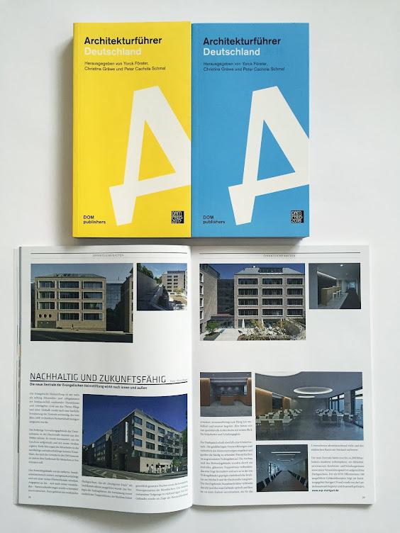 Architekturführer Deutschland DOM Publishers 17/18 und Cube Magazin 3/17-ARP Architekten,Zoll Archi