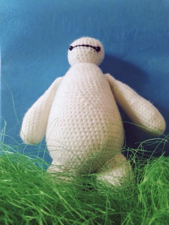 crochet amigurumi baymax from big hero 6