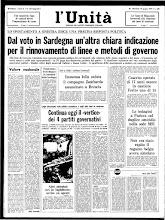 UNITA' 19 GIUGNO 1974