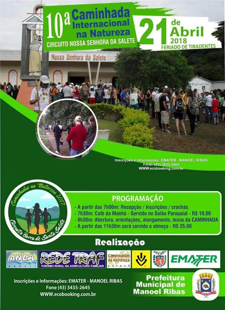 10ª Caminhada Internacional Na Natureza