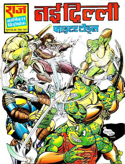 Nai Dilli Fighter Toads comics