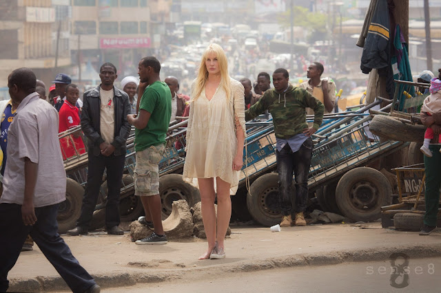 Daryl Hannah in a scene from Netflix's Sense8. Photo credit Murray Close Netflix.