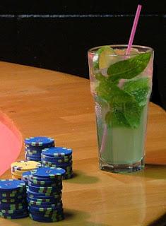 mojito au red bull et poker
